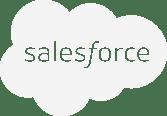 Sales Force White Logo