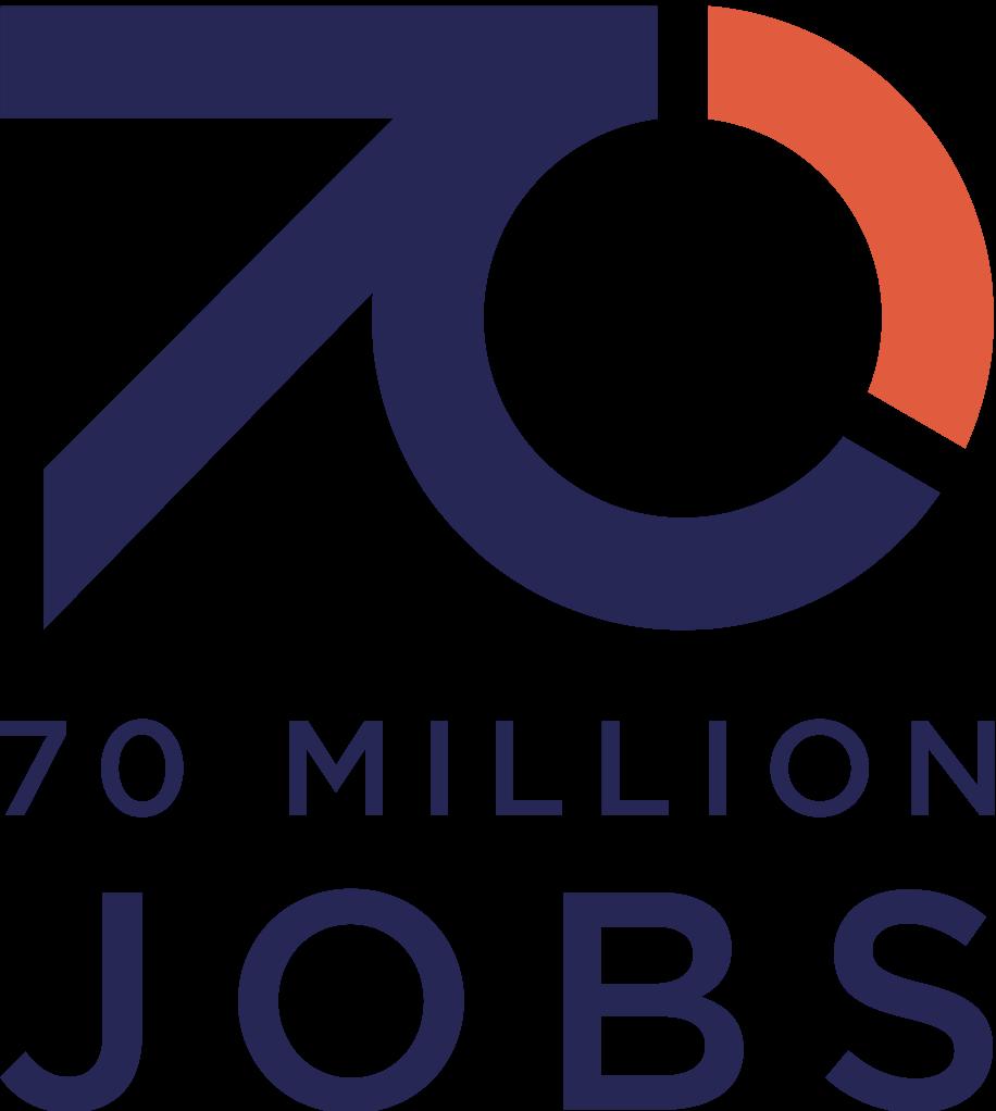 70 Million Jobs logo