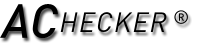 AChecker logo