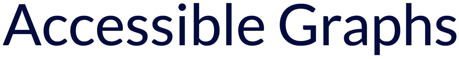 Accessible Graphs logo
