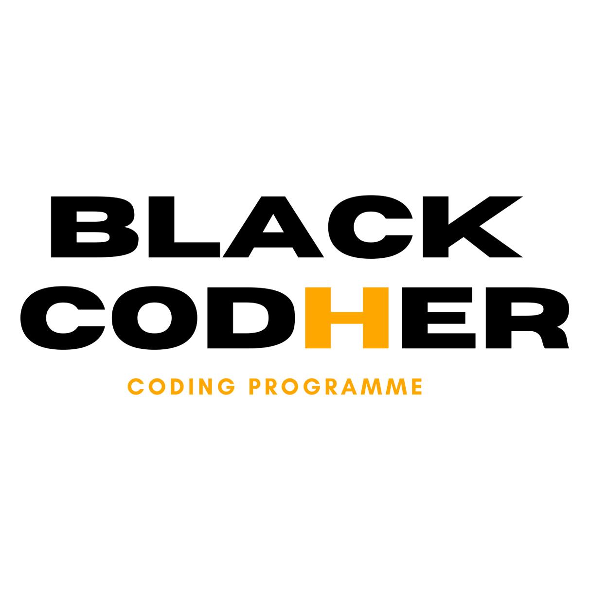 Black Codher logo