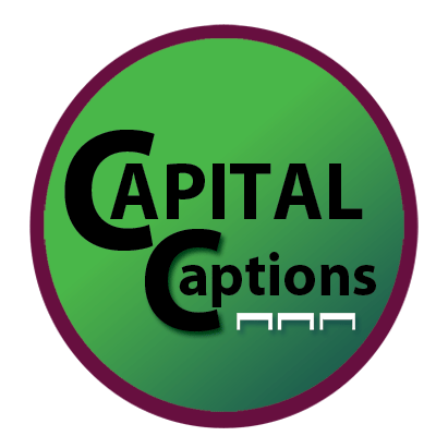 Capital Captions logo
