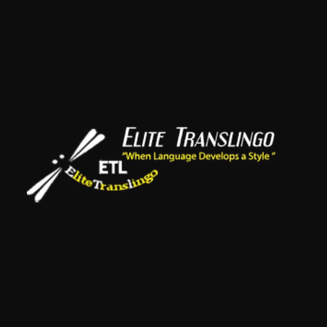 EliteTransLingo logo