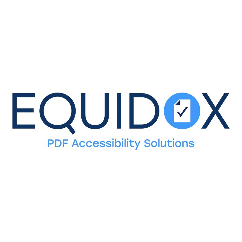 Equidox PDF Accessibility Solutions logo