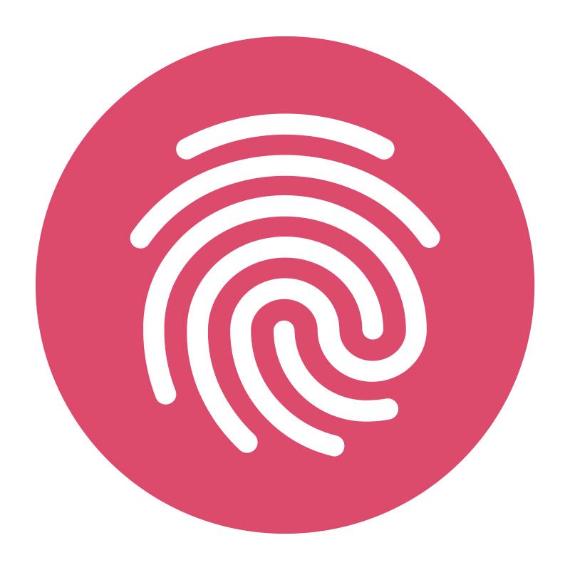 Fingerprint for Success logo