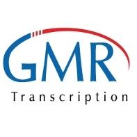 GMR Transcription logo