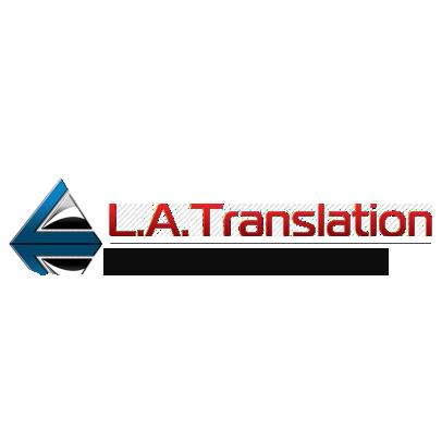 L.A. Translation logo
