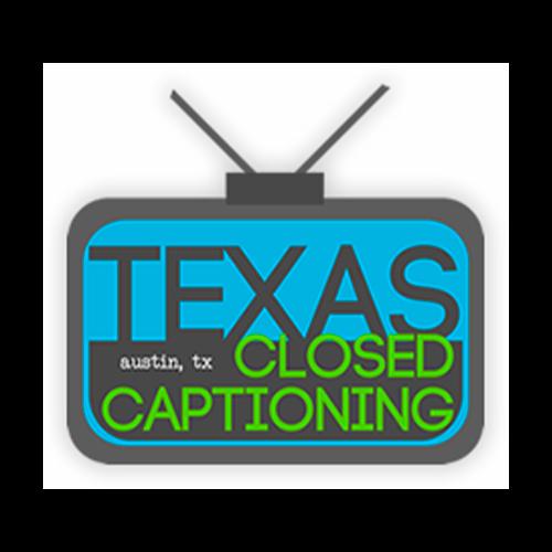 Texas Closed Captioning logo