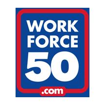 Workforce 50 logo