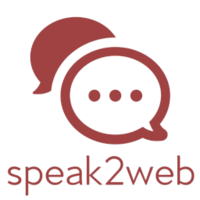 speak2web logo